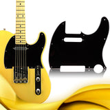 3Ply Aged Pearloid Pickguard Tele Style Guitar Pickguard Aged White Pearl Musical Instrument Guitar Parts Accessories 7 Colors
