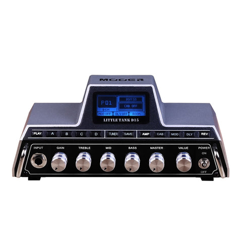 Mooer Little Tank D15 Guitar Multi Effects Amplifier Head