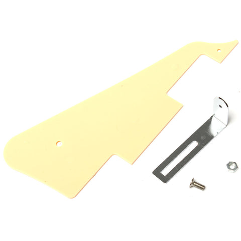 Cream LP Guitar Pickguard Scratch Plate Panel Bracket For Epiphone Les Paul