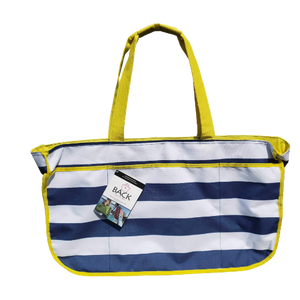 Back Chair Bag-Nautical Stripe