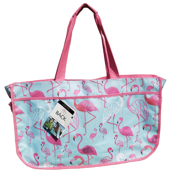 Back Chair Bag-Flamingo