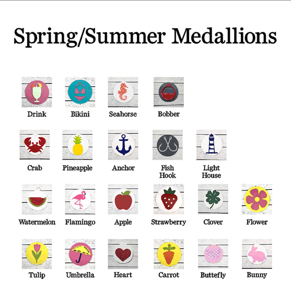Spring/Summer Medallions - for use with HOME base