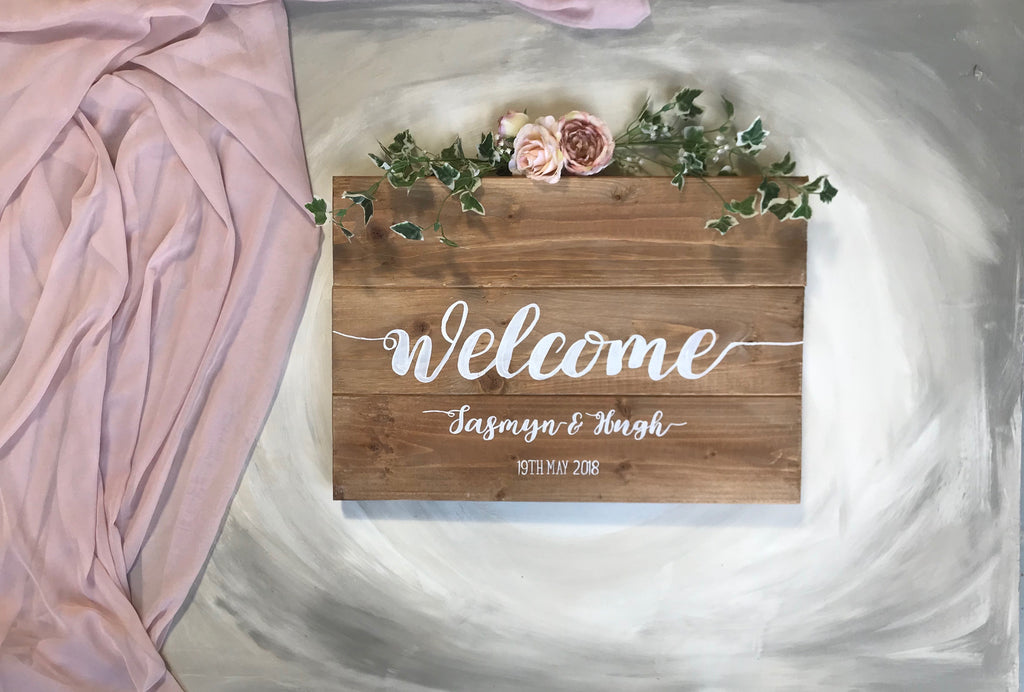 Do I need a wedding welcome sign ?