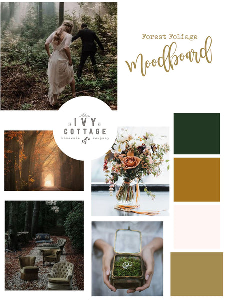 Woodland Wedding Moodboard