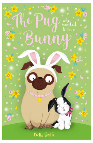 The Pug who thought he was a bunny