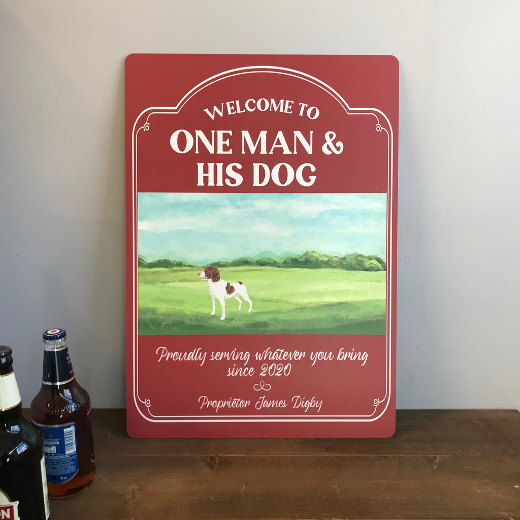 PUB/BAR SIGN - Personalised sign perfect for home bars