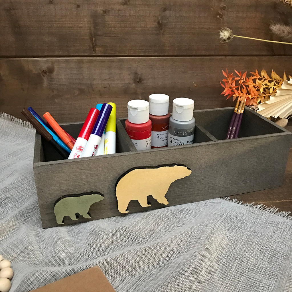 Bear Storage Box - 3 Compartments ideal gift box