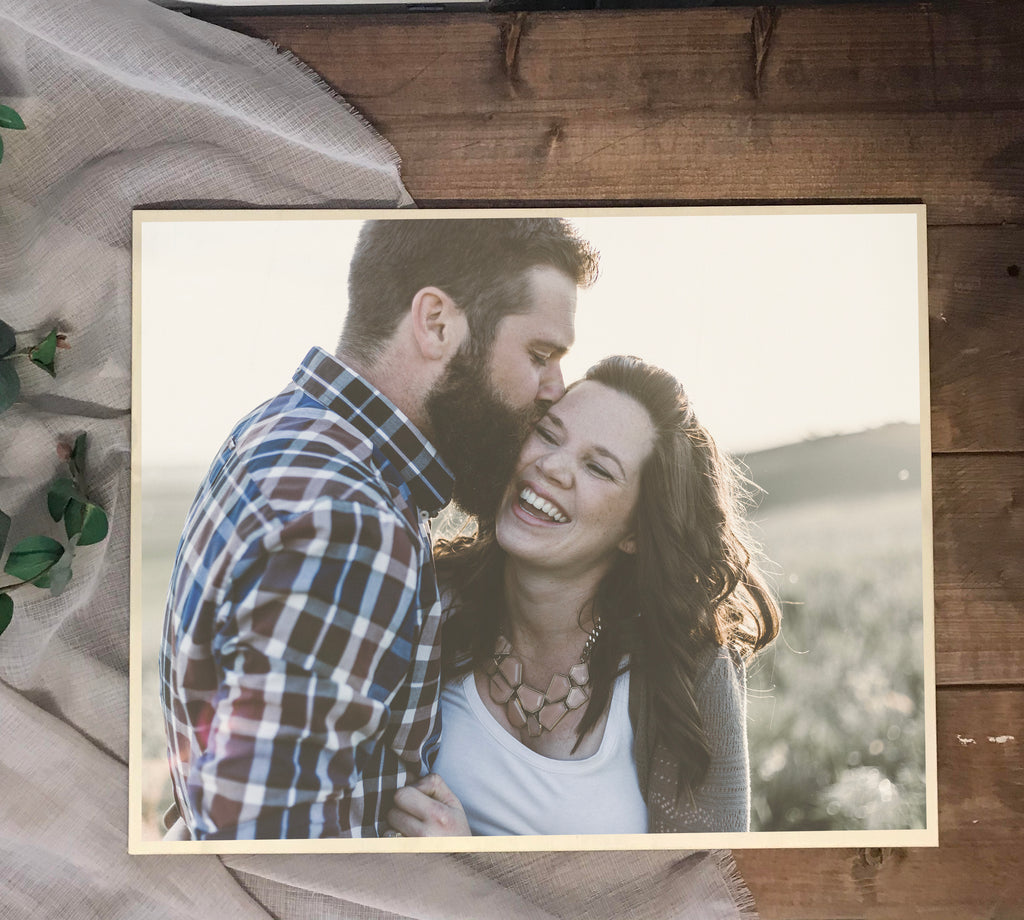 Large Wooden Photo Gift  - Personalised printed wooden