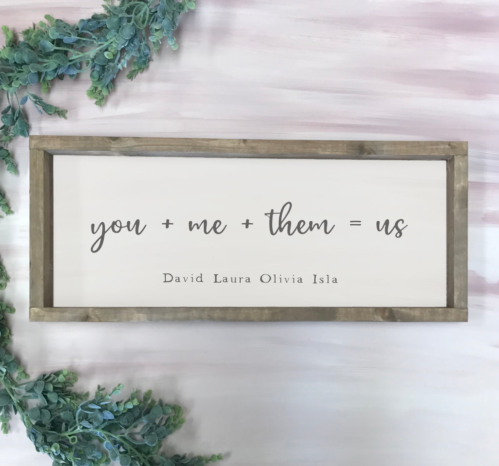 This is us family sign, Rustic Farmhouse Sign