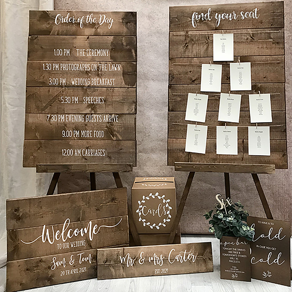 Rustic Wedding Edit
