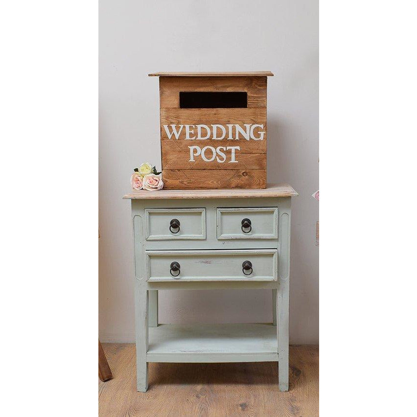 Hand Made Rustic Wedding Post Box