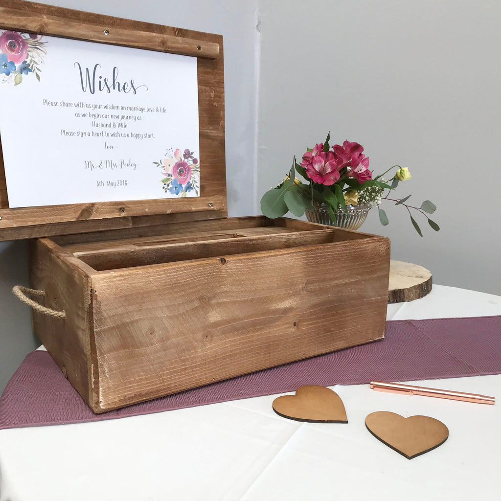 Alternative Guest Book and Memory Box