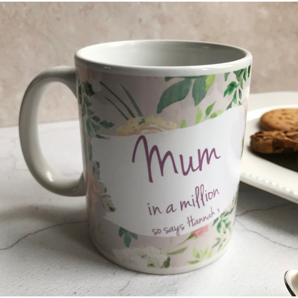 Personalised Mum Mug, Gift for mum, mother, mummy