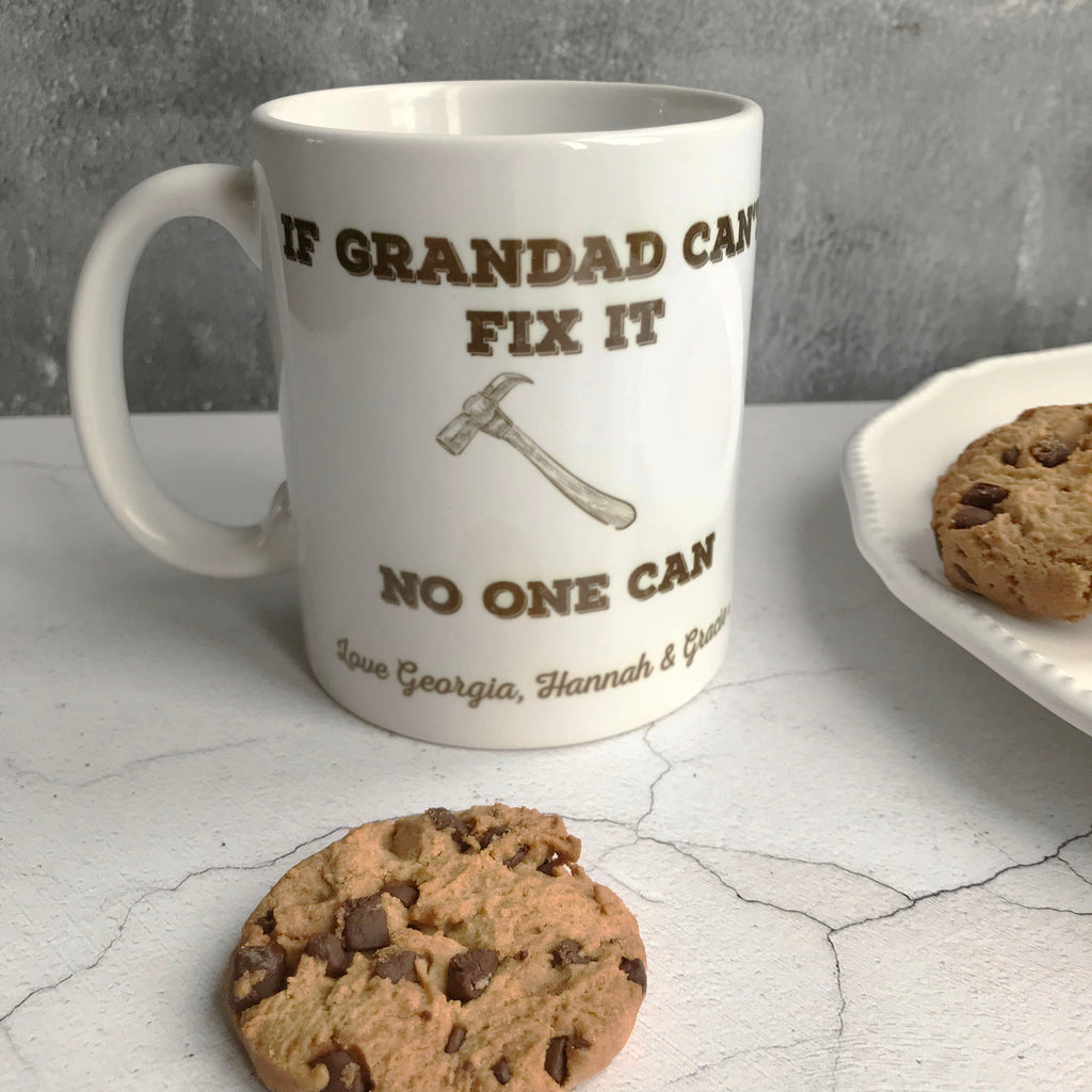 Grandad can Fix anything Mug