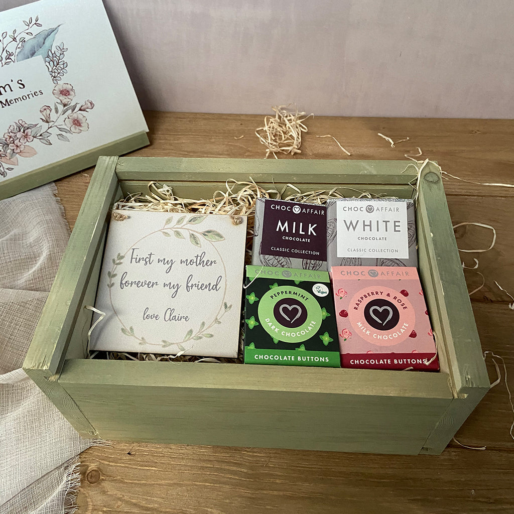 Chocolate Taster  Hamper - Medium Keepsake Box