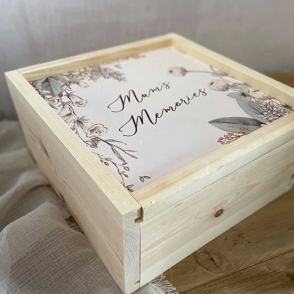 Mothers Day Chocolate Hamper - Large Keepsake Box