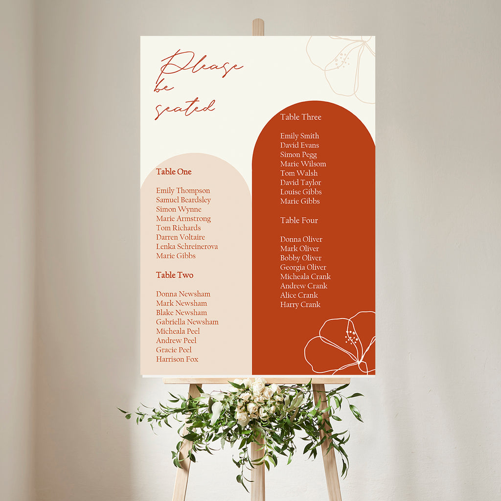 Wedding Decor Bundle - Rusted Arch