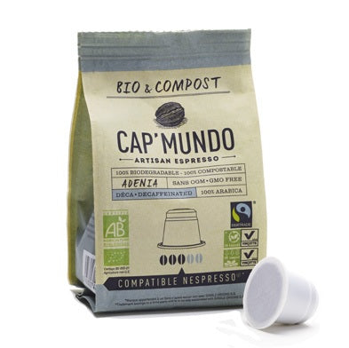 adenia-decafeine-torrefaction-française-100%-arabica-paquet-de-10-cafe-bio-et-compost-en-capsule-dosette-compatible-nespresso-capmundo-bodegradable-fairtrade-max-havelaar-compostable