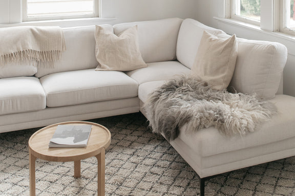 (PRE-ORDER) Sunday Sectional Right, Vanilla - Image 2