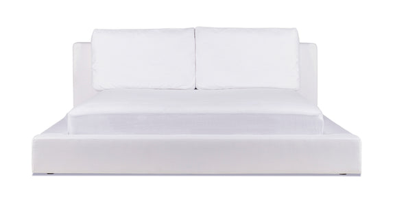 Movie Night Bed, King White