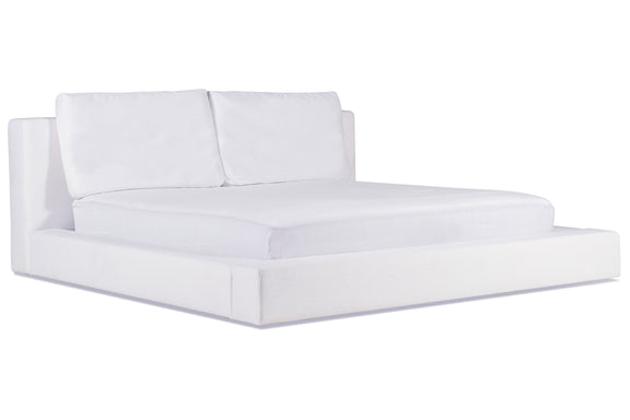 (PRE-ORDER) Movie Night Bed, King White - Image 3
