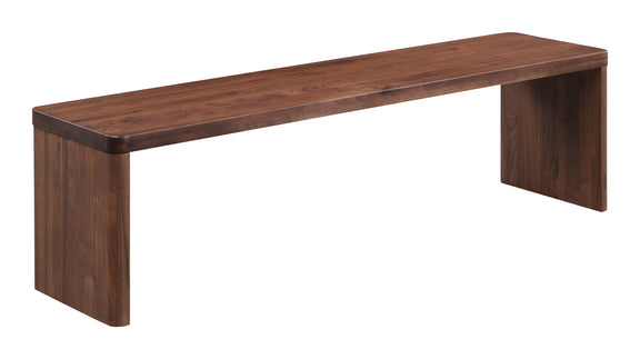 Form Bench, American Walnut - Image 2