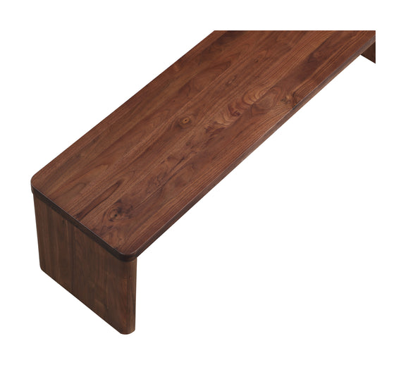 Form Bench, American Walnut - Image 4