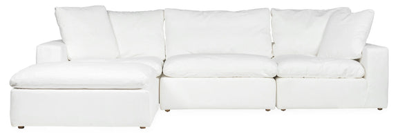 (PRE-ORDER) Movie Night 4-Piece Modular Sectional, Brie - Image 1