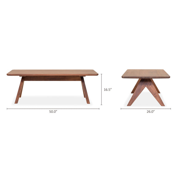 Weekender Coffee Table, Mocha