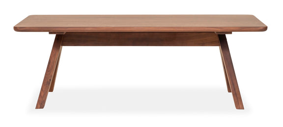 Weekender Coffee Table, Mocha - Image 1