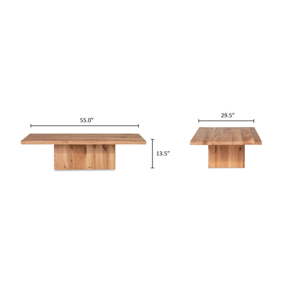 (PRE ORDER) All We Need Coffee Table, Toast
