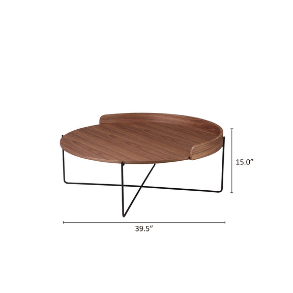 Kick Back Coffee Table, Spice