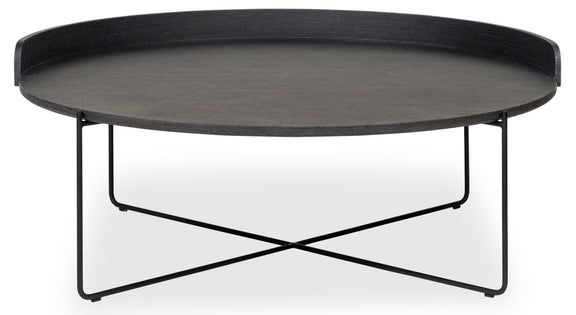 Patio Time Side Table, Asphalt