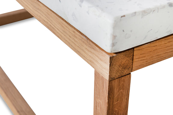 Balance Square Coffee Table, Nougat - Image 6
