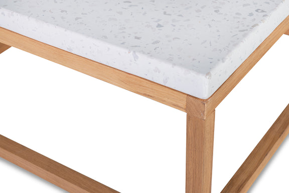 Balance Square Coffee Table, Nougat - Image 5