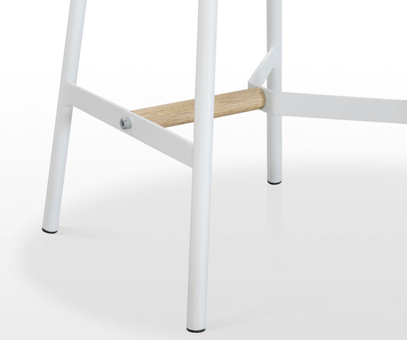 Take The Edge Off Counter Stool, White - Image 5
