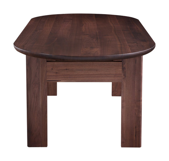 Track Dining Table, American Walnut - Image 3
