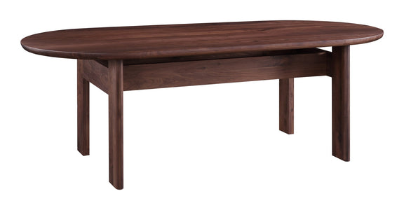 Track Dining Table, American Walnut - Image 4