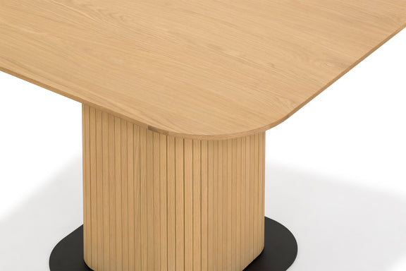 Easy Edge Square Dining Table, White Oak - Image 3