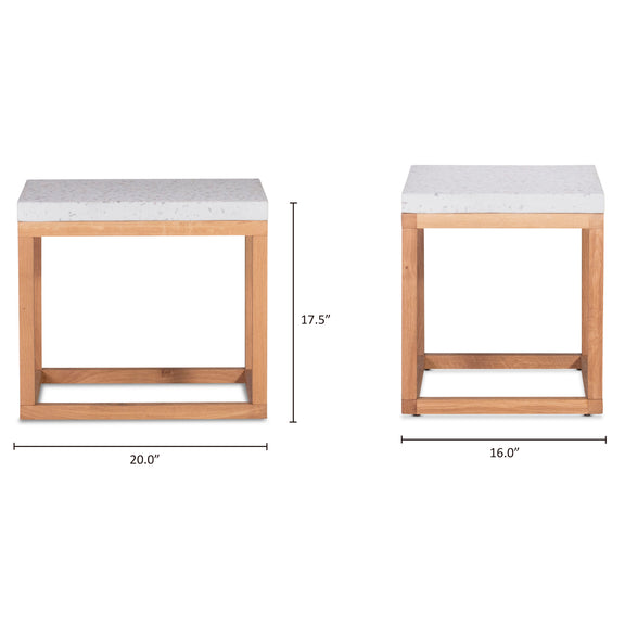 Balance Side Table, Nougat - Image 8