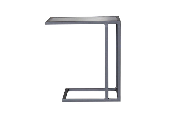Patio Time Side Table, Asphalt - Image 4