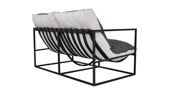 (PRE-ORDER) Afternoon Sun Lounge 2-Seater, Nightfall - Image 4