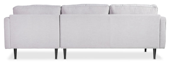 (PRE-ORDER) Unwind Sectional Right, Fog - Image 5