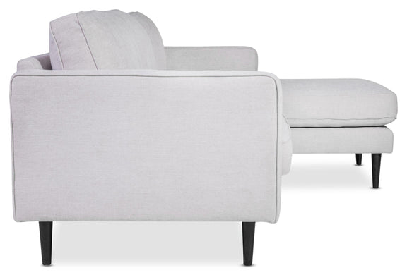 (PRE-ORDER) Unwind Sectional Right, Fog - Image 4