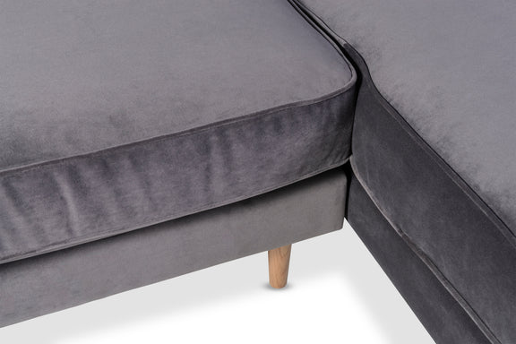 Unwind Sectional Left, Smoky - Image 5
