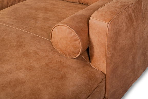 Unwind Sectional Right, Gingersnap - Image 7