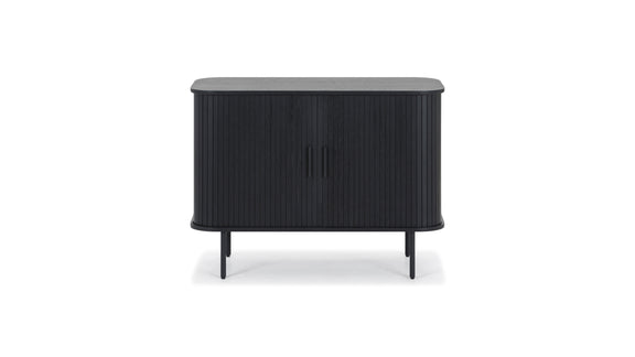 (PRE-ORDER) Easy Edge Small Sideboard, Black Oak - Image 1