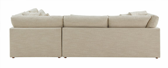 (PRE-ORDER) Feel Good Corner Sectional with Ottoman, Natural - Image 10