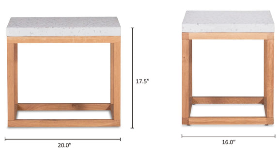 Balance Side Table, Nougat