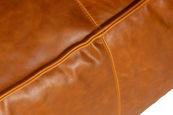Mylounge Leather Loveseat, Cinnamon - Image 6